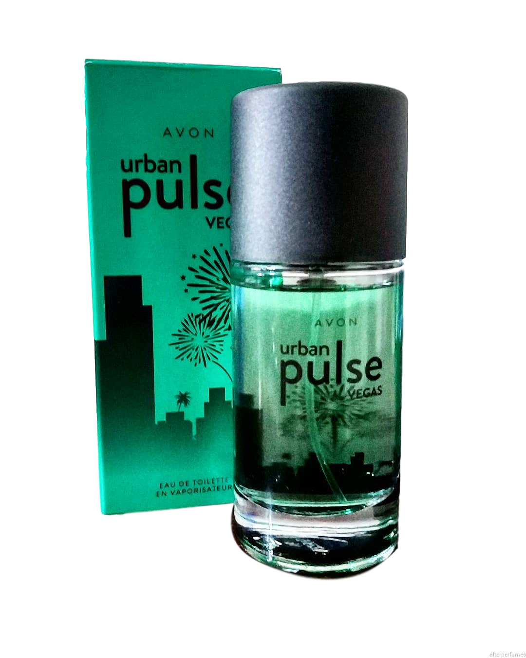 Avon Urban Pulse Vegas Mens Cologne 50ml Alter Perfumes