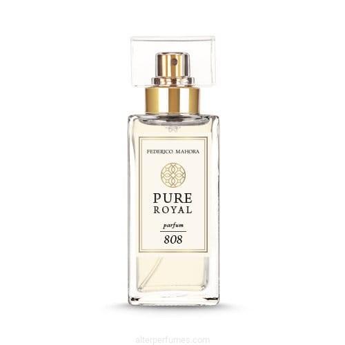 Fm 808 Pure Royal Collection Lemon Tuberose Sandalwood Parfum