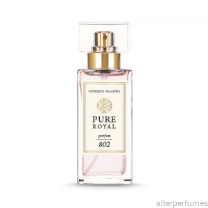 FM 802 - Pure Royal Collection  Pink Pepper - Jasmine - Vanilla Parfum 50ml