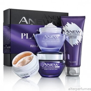 Avon - Anew Platinum - Age 55+ Complete Care 4 Pcs Gift Set