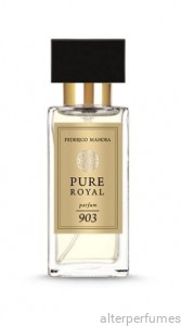 FM 903 - Pure Royal - Unisex Parfum - Mandarin - Jasmine - Cedar Wood 50ml
