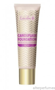 Lovely - Camouflage Foundation High Coverage - 3 Ivory 25g