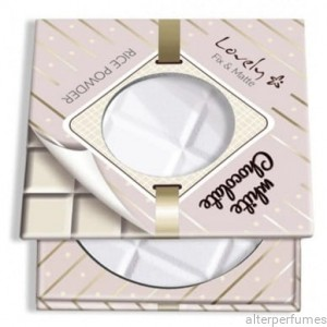 Lovely - Fix&Matte Rice Pressed Powder - White Chocolate