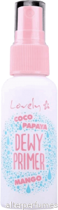 Lovely - Dewy Primer With Coco Papaya & Mango 40ml
