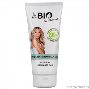 Be Bio - Natural Body Lotion - Spirulina & Chlorella (Vegan)  200ml