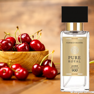 FM 900 - Pure Royal - Parfum Unisex - Black Cherry - Jasmine - Cedar 50ml