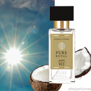 FM 913 - Pure Royal - Parfum Unisex - Coconut - Vanilla - Bergamot 50ml