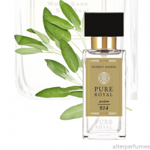 FM 914 - Pure Royal - Parfum Unisex - Salty Notes - Wood - Sage 50ml