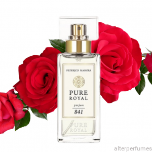 FM 841- Pure Royal - Parfum - Bergamot - Rose - Musk  50ml