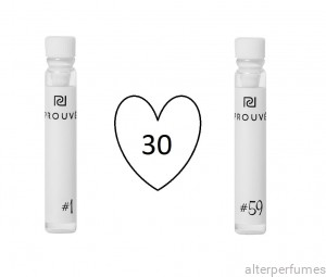 Prouve 30 x Samples - Women's Parfum
