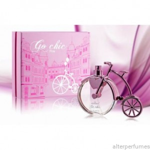 Go Chic PINK Women's Eau de Parfum by Morakot/Tiverton 100 ml