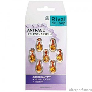 Rival de Loop - Mature Skin Face Treatment Capsules - All Skin Types 7 x 0.38ml