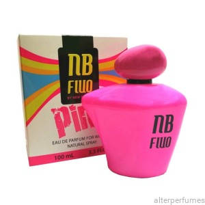 New Brand - Fluo Pink - Eau de Parfum For Women 100ml
