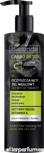 Bielenda Charcoal Carbo Detox Face Wash Gel 195g