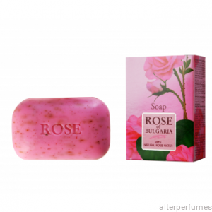 Damascena Rose Natural Soap by Rose of Bulgaria 100g