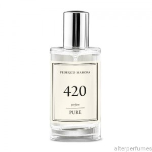 FM No 420 PURE Parfum For Women Floral Fruity 50ml