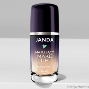 Janda Mattifying  Flexible Foundation - 02 Light Beige 30ml