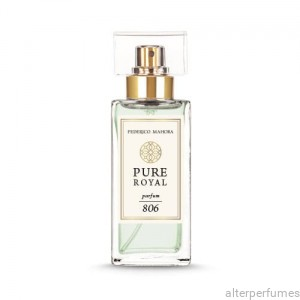 FM 806 - Pure Royal Collection Aquatic Notes - Ylang-Ylang - Sandalwood Parfum 50ml