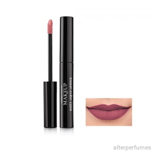 FM Makeup Matte Liquid Lipstick - Runway Plum - 6.5ml