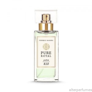 FM 810 - Pure Royal Collection Blackcurrant - Rose - Amber Parfum 50ml