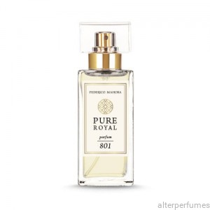 FM 801 - Pure Royal Collection Green Notes - Magnolia - Tonka Bean Parfum 50ml